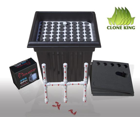 The Clone King 64 Site Aeroponic Cloning Machine ...