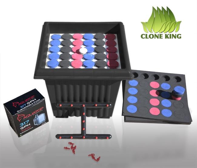 aeroponic cloning machine