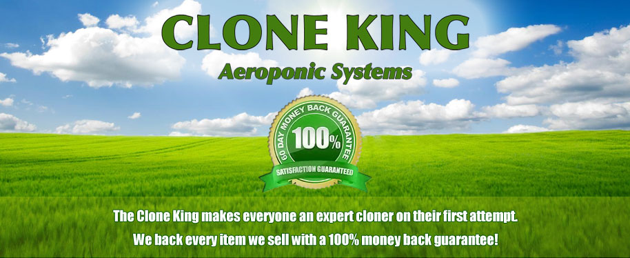 Clone King Hydroponics Aeroponic System and Cloning Machines